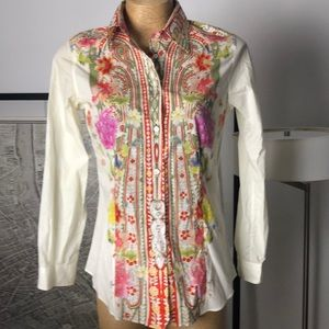 New Etro shirt floral Size 46